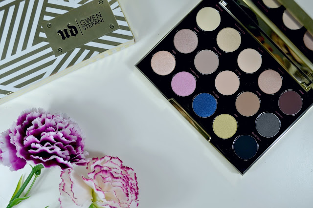 Urban decay - Gwen Stefani - Eyeshadow palette - make up - eyeshadow - swatches - review