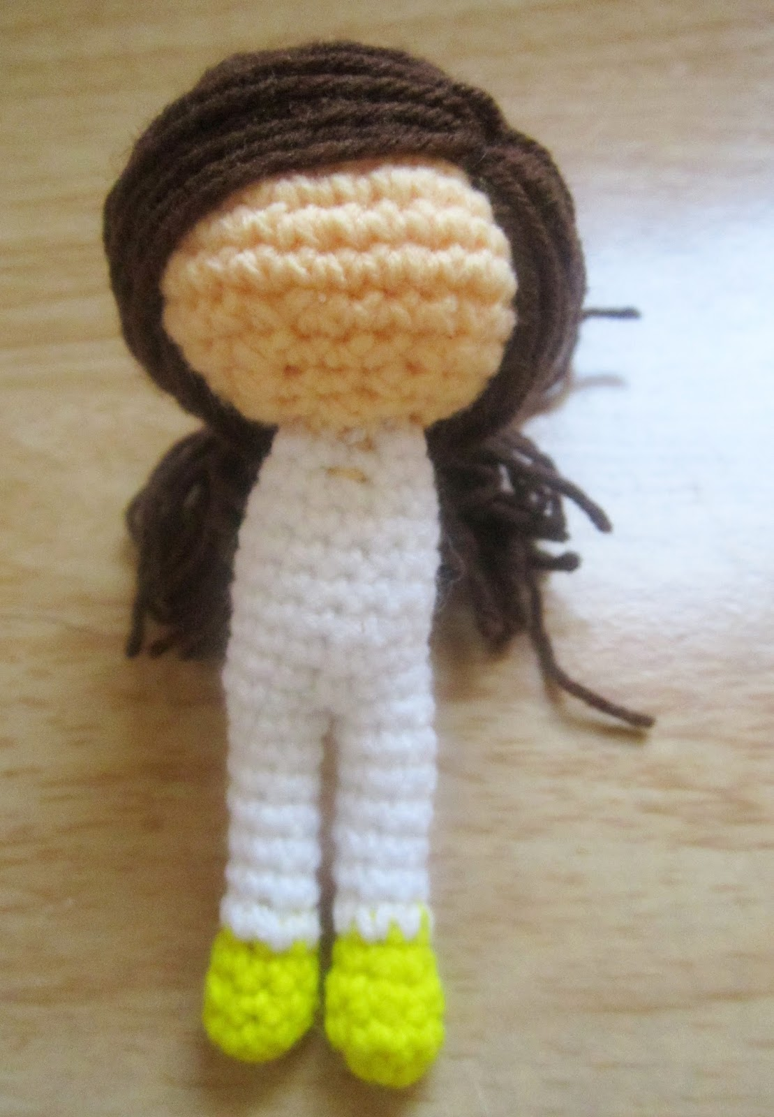 Amigurumi Attaching Arms : Little Amigurumi doll pattern. - A little love everyday!