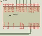 large current relay interface with microcontroller