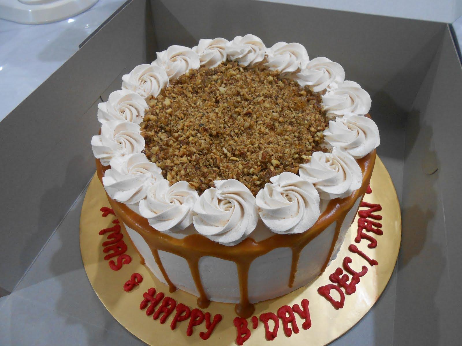 PECAN BSCOTCH CAKE