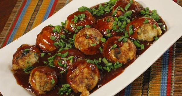 Chinese Chicken Balls By Zubaida Tariq