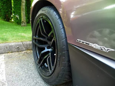 Lamborghini Murcielago LP670-4 Superveloce Rims and Wheels