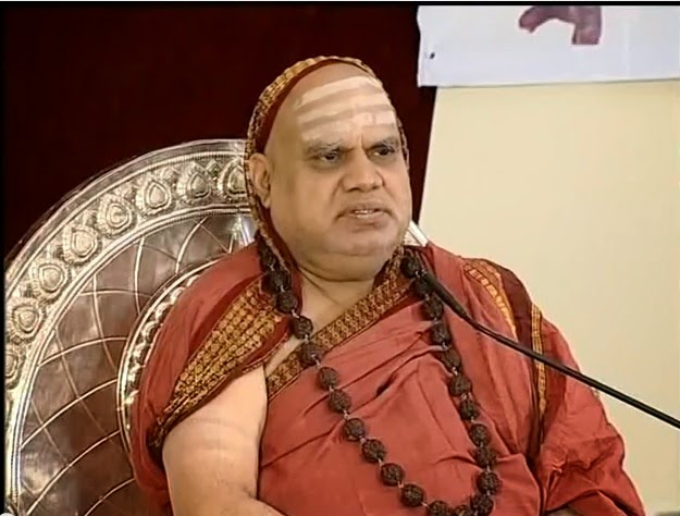 Tanikella Bharani's interview with Sri Bharathi Teertha Maha Swami