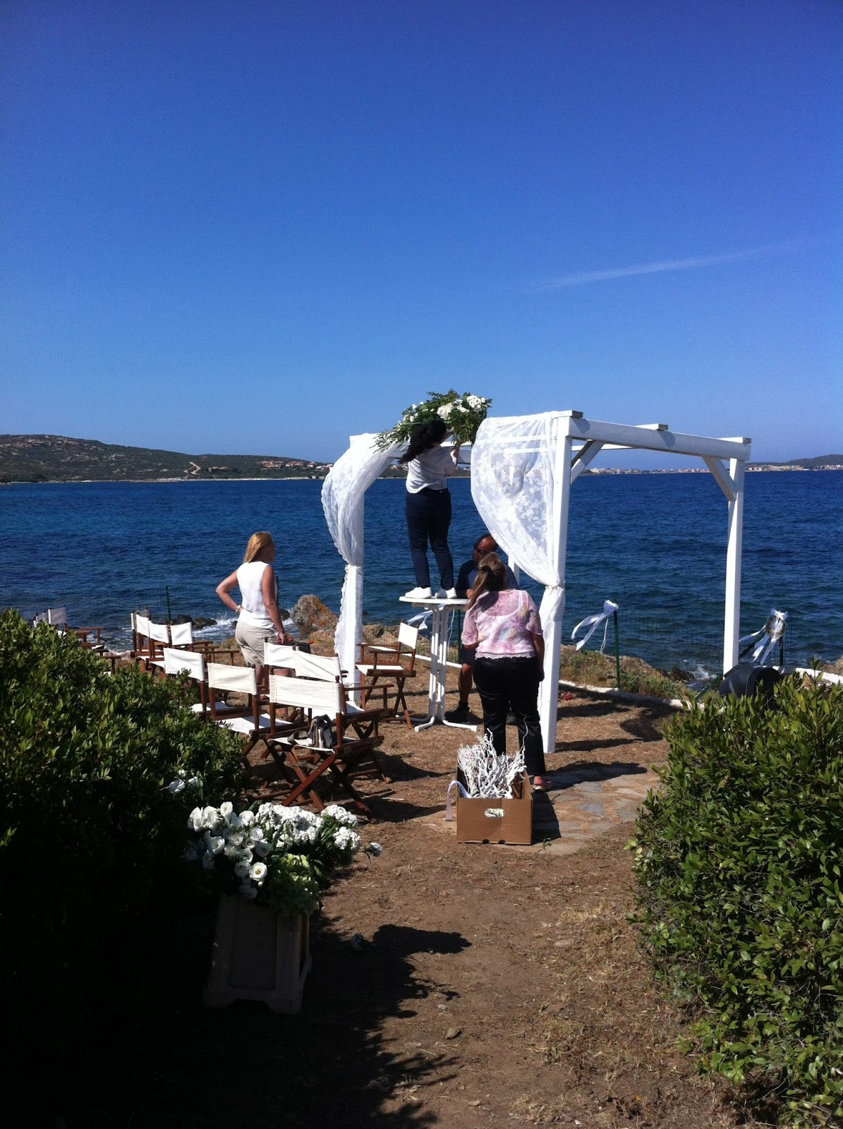 Elisa wedding dream blog wedding planner sardegna for Arredi costa smeralda