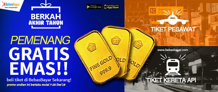 Pemenang Emas Batangan Dari Tiket Berkah Akhir Tahun Bebasbayar Id
