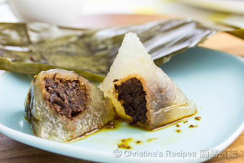 桂花豆沙西米糭 Sago Dumplings with Red Bean Filling02