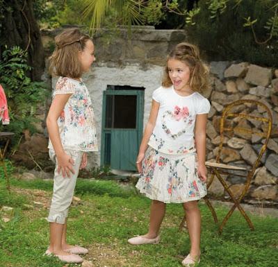 VESTIDOS PARA NIÑAS DE AMAYA  - MODA INFANTIL COLECCION DE AMAYA  - ROPA PARA NIÑOS AMAYA PRIMAVERA VERANO 2013