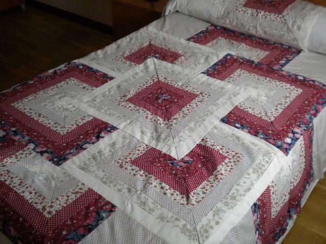 Colcha de patchwork el blog de margarita - Como hacer una colcha de tela ...