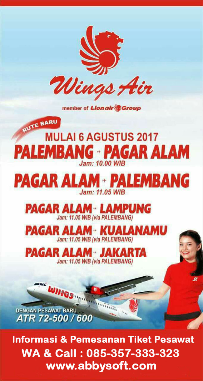 AGEN RESMI WINGS AIR ( LION AIR GROUP )