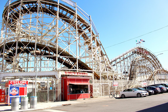Coney Island Brooklyn New York Luna Park Cyclone Rollercoaster