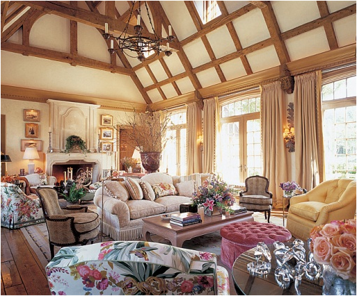 English Country Living Room Design Ideas | Modern Home Decoration