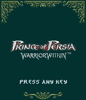 Prince Of Persia Warrior Within para Celular