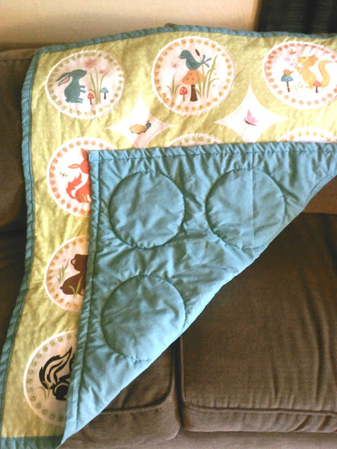 quilting with a regular sewing machine