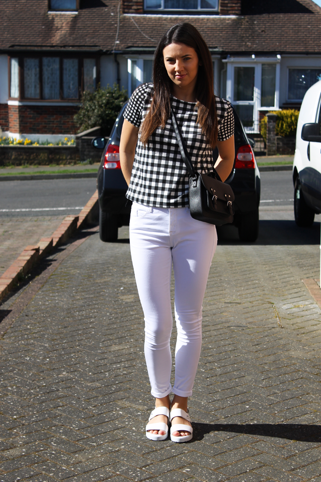 Secrets of a PR Girl - Lifestyle Blog: White Jeans