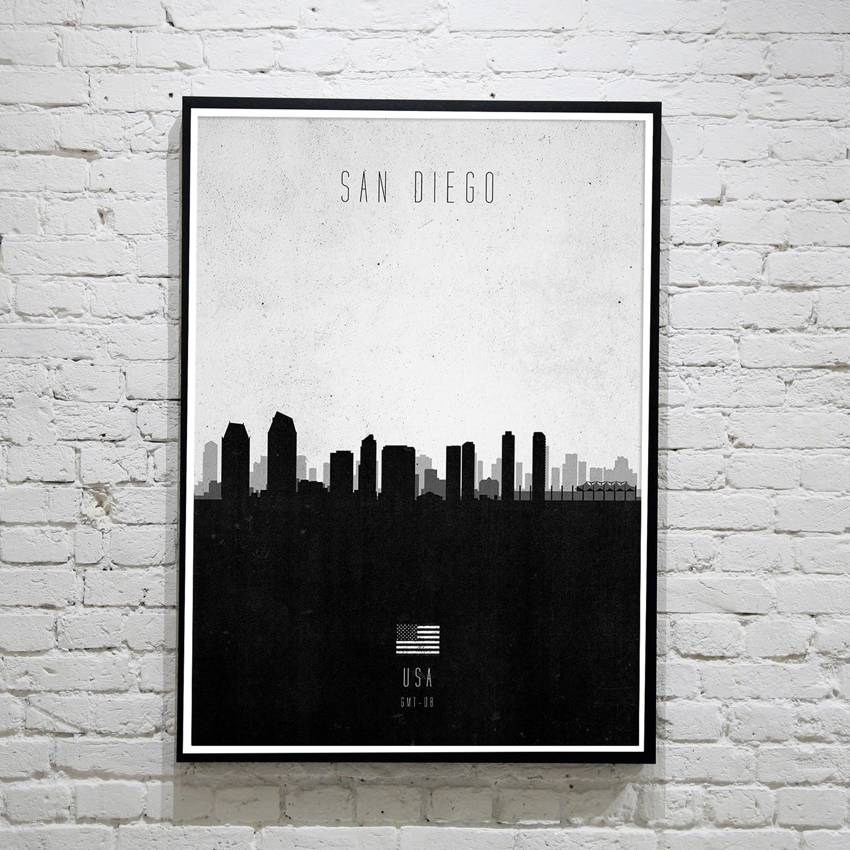 San Diego. Contemporary Cityscape
