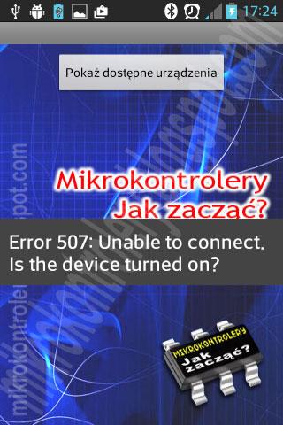 Android + App Inventor: Błąd Error 507.