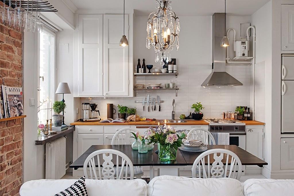 Boho deco chic un apartamento de estilo n rdico cl sico - Deco estilo nordico ...