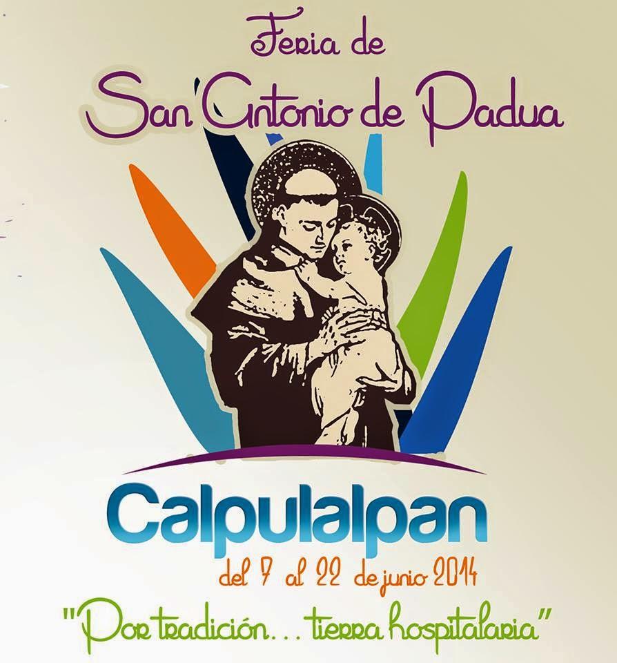 Programa de la Feria Calpulalpan 2014