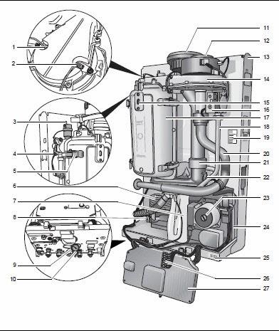 GB022 budowa kotła kondensacyjnego Buderus