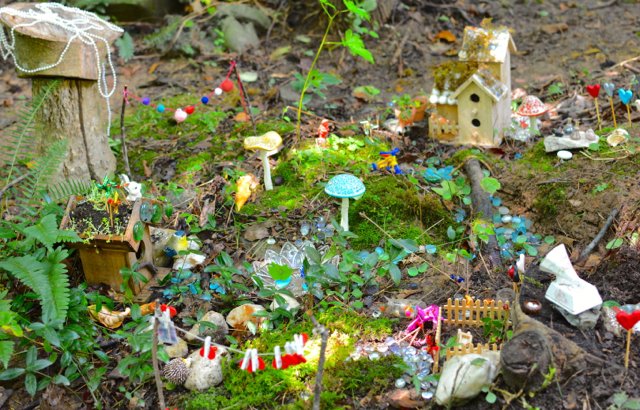 Momartscience The Fairies Finally Have Their Garden