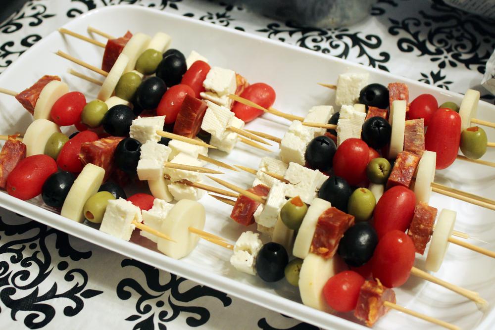 Brochettes Antipasto Goûtes-Y Blog Bouffe Foodie