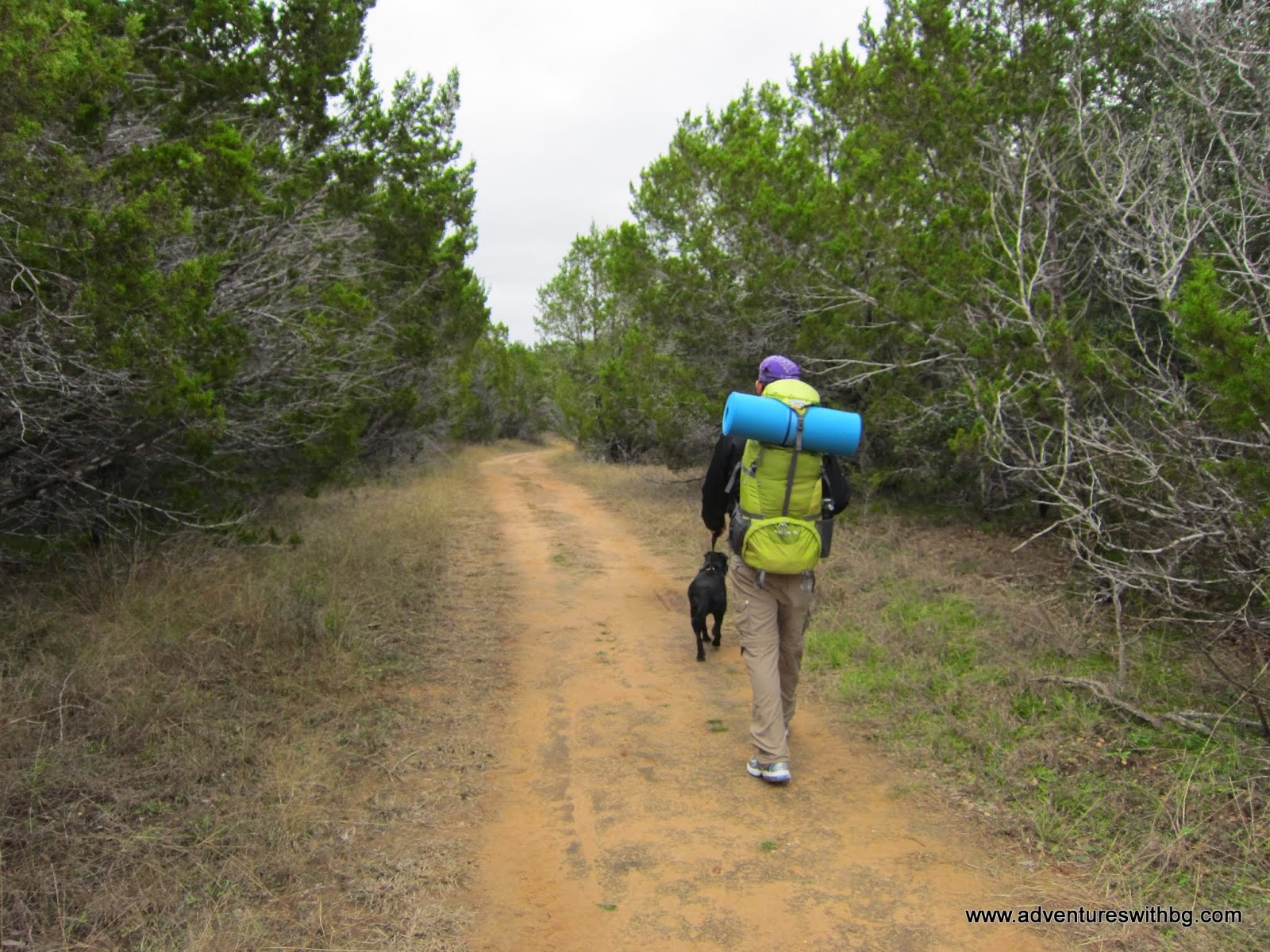 The 5-Mile Loop Trail is pretty easy at first.