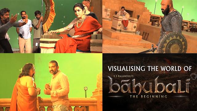 Baahubali Making Videos | Rajamouli | Ramya Krishna | Sathyaraj | Nasser