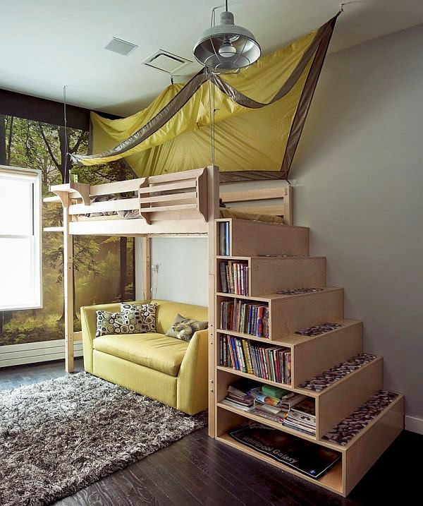 Tiny-Ass Apartment: Little libraries: 23 small-space book storage ...