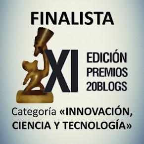 FINALISTA de los XI Premios 20Blogs