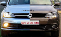 2015 Volkswagen  Facelift: Comparison New vs Old