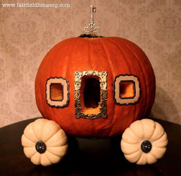 Arte y arquitectura calabazas originales para halloween - Decorar una calabaza de halloween ...
