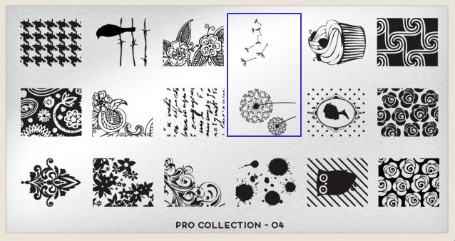 stamping plate Pro Collection 04 - Moyou London
