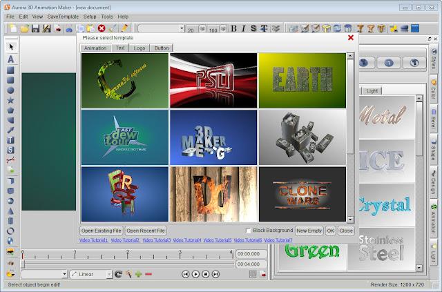 تحميل برنامج Aurora 3D Animation Maker v14.09.09 لصناعة الرسوم المتحركة والصور ثلاثية الابعاد