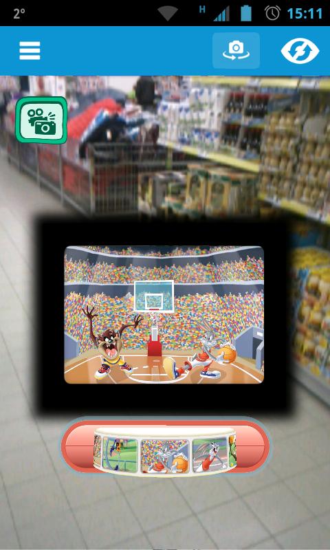 aplikacja zappar, biedronka, gra