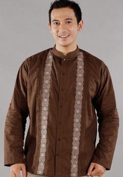 Gambar Baju Muslim Koko Modern