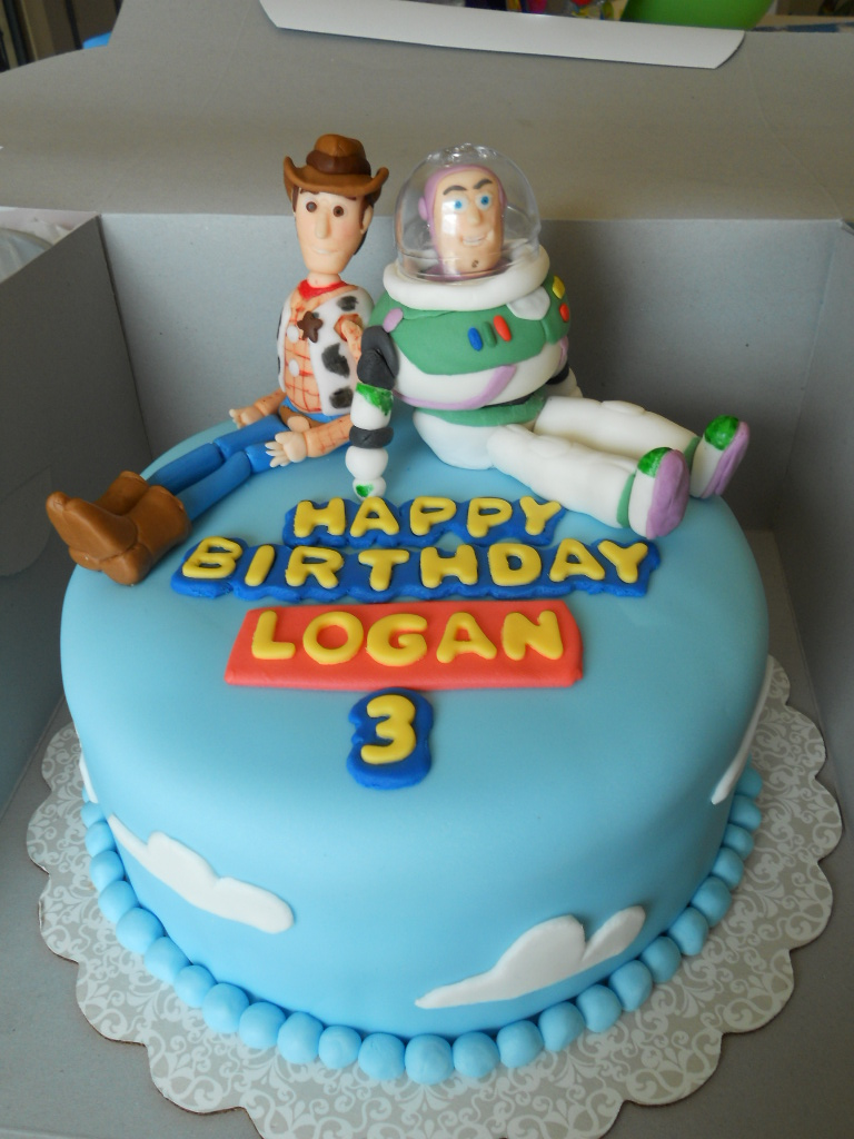 Happy Birthday Logan Cakes