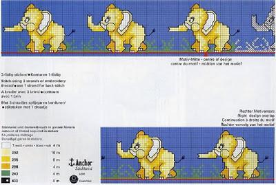 elefante 1000patrones