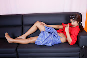 Charulatha Hot Photo shoot in Lungi-thumbnail-6