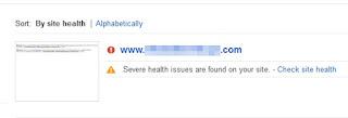 deteksi malware google webmaster tool
