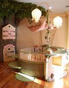 Ideas para Decorar el Dormitorio de los Niños de forma Divertida y Graciosa dormitorio flores