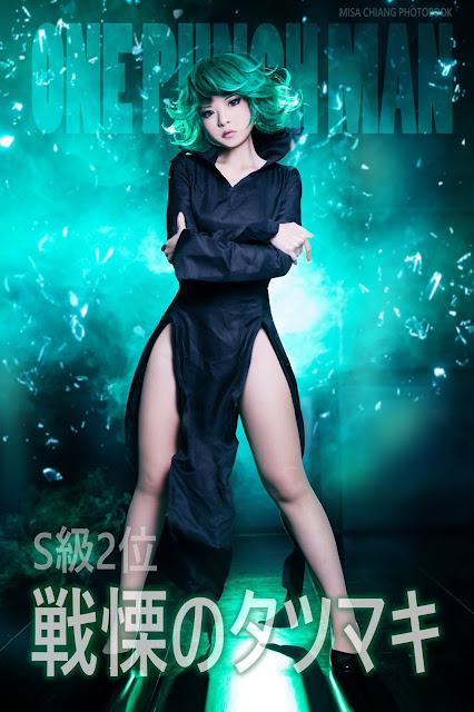Cosplay Tatsumaki One Punch Man Misa Chiang images 02