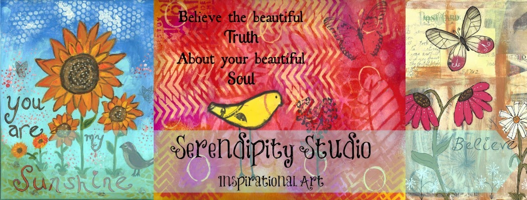 Serendipity Studio - Mixed Media Art