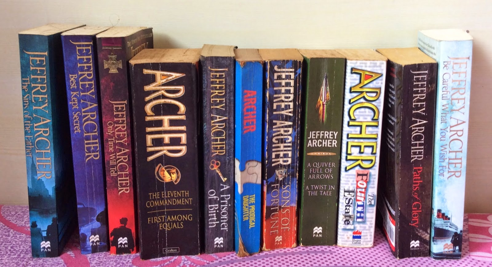 Thrillers and Historical Fiction Jeffrey Archer