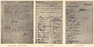 Deklarasi 44 anggota di Restoran Dell Orologio