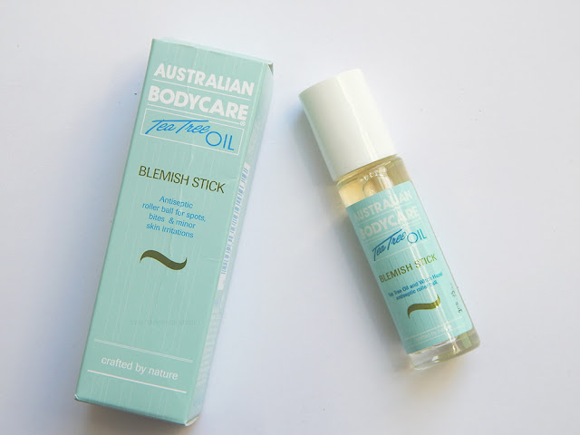 Australian bodycare blemish stick out of the packaging