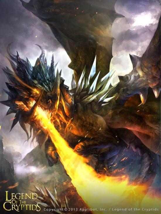 guicaimumu chinese artist illustrations fantasy card games Dragon