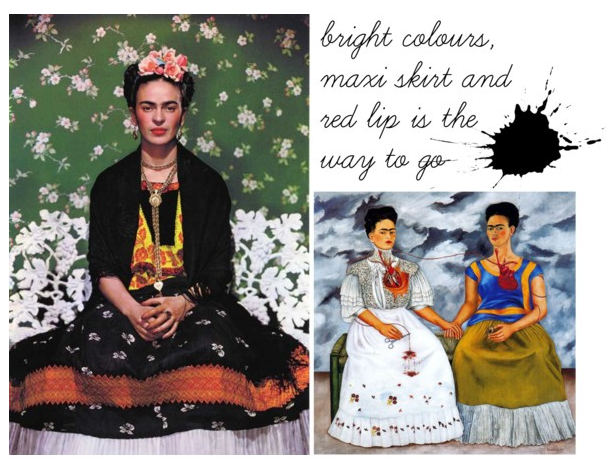 Frida Kahlo, the Vogue...