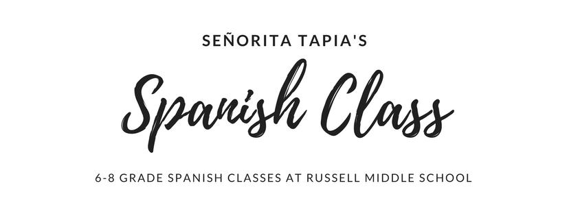 Señorita Tapia's Class