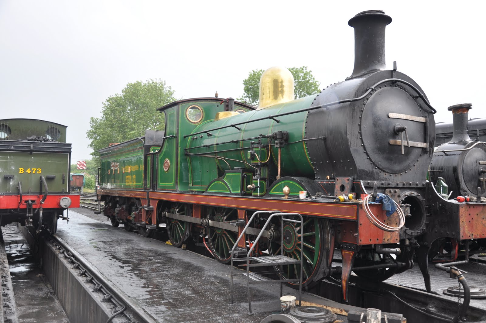 British Steam Engine Trains