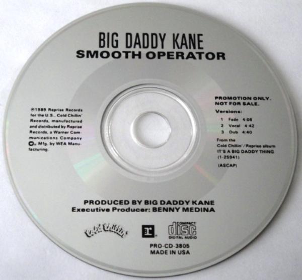 Big Daddy Kane – Smooth Operator (Promo CDS) (1989) (320 kbps)
